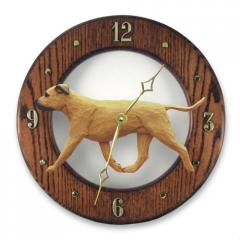 American Staffordshire Terrier Dog Wall Clock