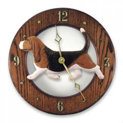 Basset Hound Dog Wall Clock
