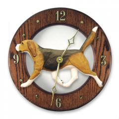 Beagle Dog Wall Clock
