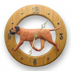 Bullmastiff Dog Wall Clock
