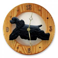 Am Cocker Spaniel Dog Wall Clock
