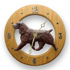 Field Spaniel Dog Wall Clock