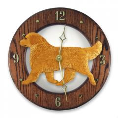 Golden Retriever Dog Wall Clock