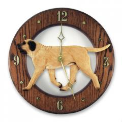 Mastiff Dog Wall Clock