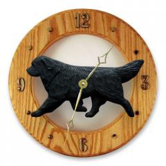 Newfoundland Dog Wall Clock
