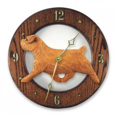 Norfolk Terrier Dog Wall Clock