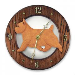 Norwich Terrier Dog Wall Clock