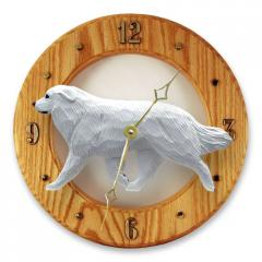 Great Pyrenees Dog Wall Clock
