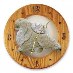 Pomeranian Dog Wall Clock