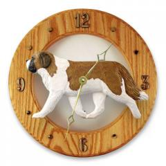 Saint Bernard Dog Wall Clock