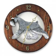 Schnauzer, Miniature Dog Wall Clock
