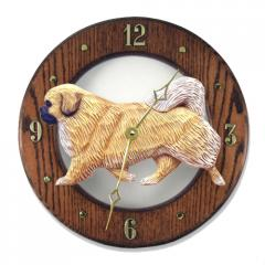 Tibetan Spaniel Dog Wall Clock