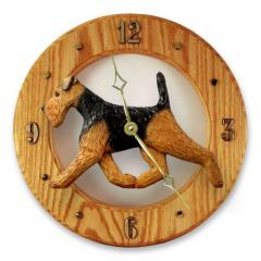 Welsh Terrier Dog Wall Clock
