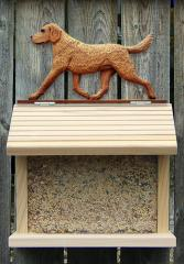 Chesapeake Bay Retriever Dog Bird Feeder