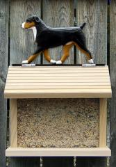 Entlebucher Dog Bird Feeder