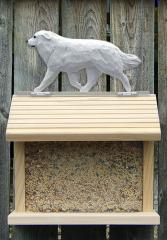 Great Pyrenees Dog Bird Feeder