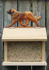 Leonberger Dog Bird Feeder