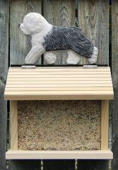 Old English Sheepdog Dog Bird Feeder