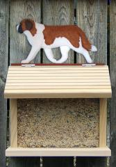 Saint Bernard Dog Bird Feeder