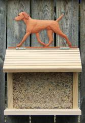 Vizsla Dog Bird Feeder