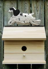 Am Cocker Spaniel Dog Bird House
