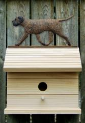 Bullmastiff Dog Bird House