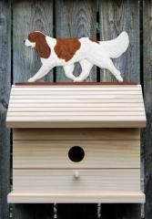 Cavalier King Charles Spaniel Dog Bird House