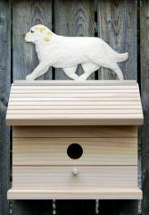 Clumber Spaniel Dog Bird House