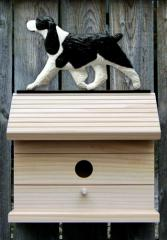 English Springer Spaniel Dog Bird House