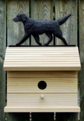 Flat-Coated Retriever Dog Bird House