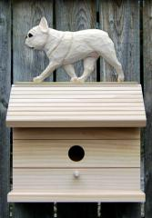 French Bulldog Dog Bird House