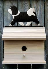 Havanese Dog Bird House
