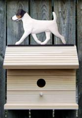Jack Russell Terrier Dog Bird House