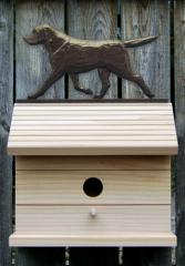 Labrador Retriever Dog Bird House
