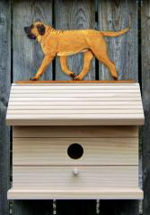 Mastiff Dog Bird House