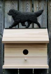 Newfoundland Dog Bird House