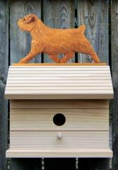 Norfolk Terrier Dog Bird House