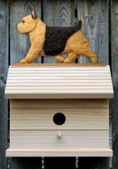 Norwich Terrier Dog Bird House