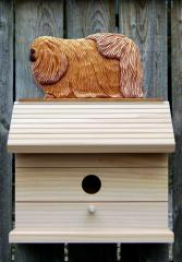 Pekingese Dog Bird House