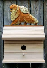 Pomeranian Dog Bird House