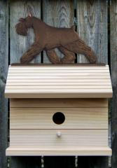 Schnauzer, Miniature Dog Bird House