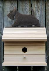 Scottish Terrier Dog Bird House