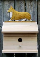 Welsh Corgi, Pembroke Dog Bird House