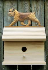 Brussels Griffon, Natural - Dog Bird House