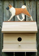 Akita Dog Bird House