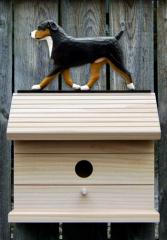 Entlebucher Dog Bird House