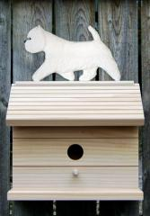 West Highland Terrier Dog Bird House