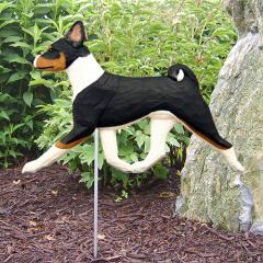 Basenji Dog Breed Garden Stake