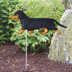 Dachshund, Smooth Hair - Dog Garden Stake
