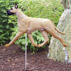 Great Dane Dog Garden Stake